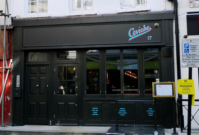 Ceviche Restaurant London